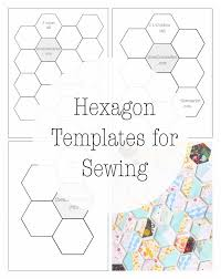 Hexagon Templates for Sewing a Hexie Quilt – 2 Inch, 2 1/2 Inch ... & Hexagon Templates for Sewing a Hexie Quilt – 2 Inch, 2 1/2 Inch, and Three  Inch Patterns – The Willow Market Adamdwight.com