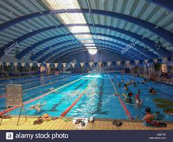 Indoor Olympic sized swimming pool at the Technion Haifa Israel