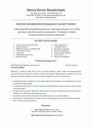 Emt Resume Examples Beautiful Information Technology Resume
