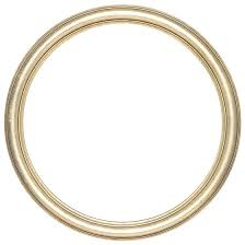 circle picture frame r62122 round frame in gold leaf finish simple antique gold wooden picture frames