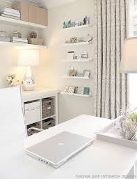 decorate a home office. 20 Ways To Decorate Home Office In White A