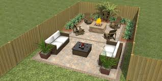 square paver patio with fire pit. Paver Patio With Square Block Fire Pit N