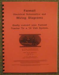 farmall 12 volt conversion wiring diagrams schematics a b h m image is loading farmall 12 volt conversion wiring diagrams schematics a b h m