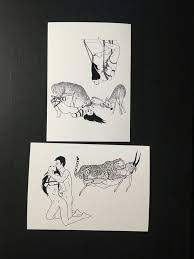 Bdsm bondage art cards