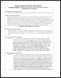 book report example college best photos of examples format book  it
