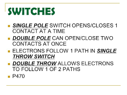 double pole single throw switch wiring diagram skisworld com Single Throw Double Pole Switch Wiring single pole switch wiring diagram skisworld wiring a double pole single throw switch