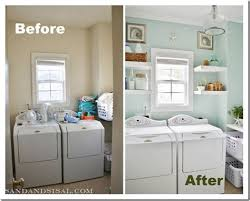 unfinished basement laundry room makeover. Laundry Room Makeover Sand And Sisal Unfinished Basement Laundry Room Makeover