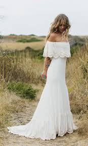 bohemian bridal lu hippie wedding dresses gowns