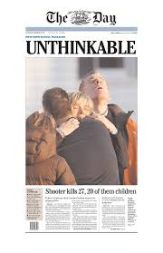 school shooting front pages show the power of a single word a  front