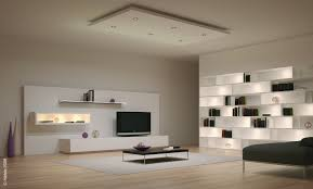 living room living room ceiling light fixture with white solid wood nesting bookcase and shelves also free standing black lcd led tv and white high gloss