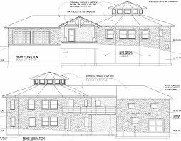 Round House Project   Elevation planRound house elevation architect    s drawing