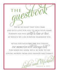 Guest Sign Book Guest Sign In Book Template Bridal Shower Wedding Stationery For
