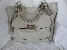 Coach NWT Coach Kristin Pinnacle Leather Tote ...