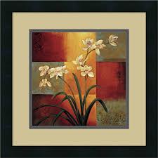 jill deveraux orchid framed art print 16  on white orchid framed wall art with jill deveraux orchid framed art print 16 x 16 inch products