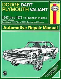 plymouth valiant zeppy io haynes workshop manual dodge dart demon plymouth valiant barracuda duster