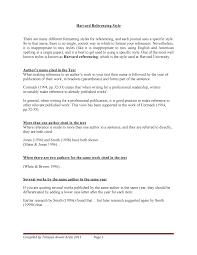 Harvard Referencing System Bcom Studocu