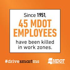 Work Zone Crash Statistics Drive Smart Ms