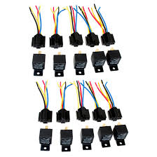 online buy whole relay volt from relay volt lot10 new 12 volt 40 amp spdt automotive relay wires harness socket
