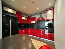 Red And Black Kitchen Red And Black Kitchen Designs Red Black Kitchen Cabinets Best