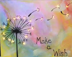 join us 1 5 to paint make a wish the colors in this painting can be customized to your liking all instruction and supplies are included