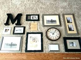 wall hanging photo frames designs family design on golden gallery frame set of excellent kids room charming