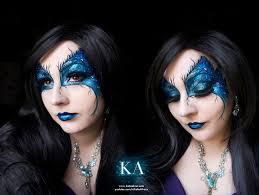 dark fairy eye makeup with tutorial by katiealves on deviantart