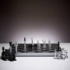 Carbon Fibre Chess Set ...