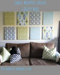 love the colors on fabric covered canvas wall art with fabric wrapped canvas wall gallery pinterest wrapped canvas