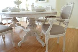 shabby chic dining room summer deal antique shabby chic dining table six chairs shabby chic small
