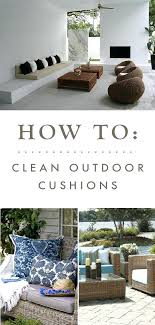 how to clean outside furniture cushions best cleaning outdoor cushions ideas on cleaning patio furniture clean