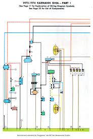 volkswagen wiring diagrams 74 year volkswagen wiring diagrams ghia 1973 74 clymers 1 volkswagen wiring diagrams year