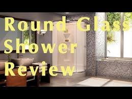 walk in round glass shower enclosure review 514 at home depot