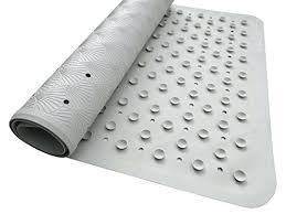 non slip shower mat australia natural rubber luxurious anti bath toxic odorless latex free universal use