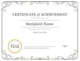 Certificate Of Recognition Wordings Certificate Of Achievement Wording Certificate Of Recognition