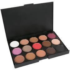 laroc 15 colours eyeshadow palette makeup kit set make up professional box