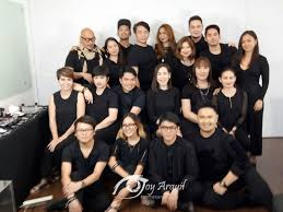 mac cosmetics and the makeup artists who will do the faces of the 65th miss universe candidates