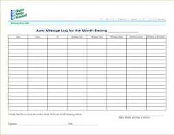 Printable Mileage Chart 5 Vehicle Mileage Log Templates Business Travel Template