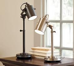 photographer s task table lamp pottery barn regarding desk decorations 0