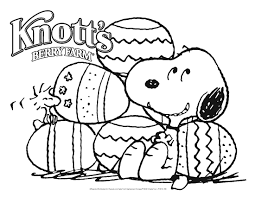 Small Picture Snoopy Easter Coloring Pages GetColoringPagescom