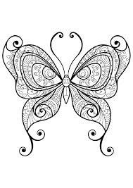 Insetti 33874 Farfalle E Insetti Disegni Da Colorare Per Adulti