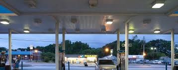 valero gas station lighting upgrade in georgia