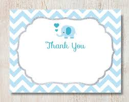 Comely Free Printable Baby Shower Thank You Cards Card Fiberglass