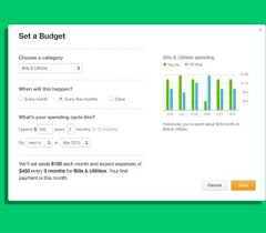 Mint Budget Budgeting Goals
