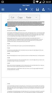 Office Word Format How To Format Text In Microsoft Office Word For Android