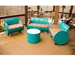 drum furniture. Recycle, Repurpose, Relax Drum Furniture B