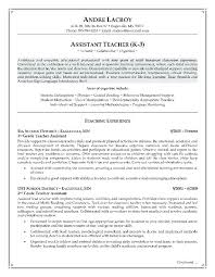 Student Teacher Resume Template Stunning Resume Objective For Teaching Resume Objective By Teachers Aid