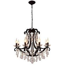 8 lights crystal chandelier modern contemporary traditional classic rustic lodge tiffany vintage retro