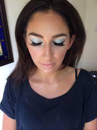 prom makeup using mac s 3d glitter insram gabriellafloydmakeup