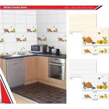 kitchen tiles design. kitchen concept - fruits tiles design