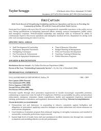 Gallery Of Entry Level Law Enforcement Resume